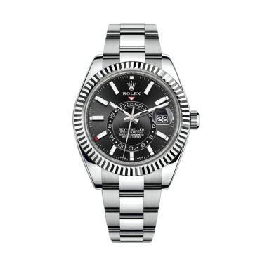 Jam Tangan Rolex Date Black jual rolex terbaru harga murah blibli