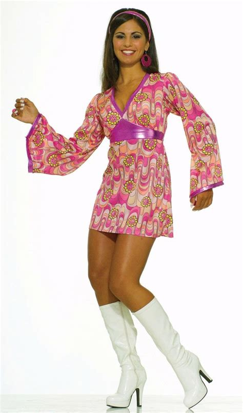 60er 70er 60 s flower power dress costume s