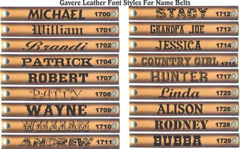 western names carved leather belt name gavereleather net