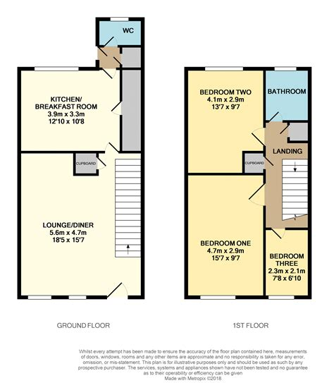 10 Chichester Place Floor Plans - the pitcroft chichester po19 3 bedroom terraced house