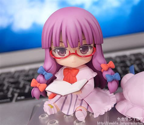 521 Nendoroid Patchouli Knowledge preview nendoroid patchouli knowledge จาก touhou akibatan