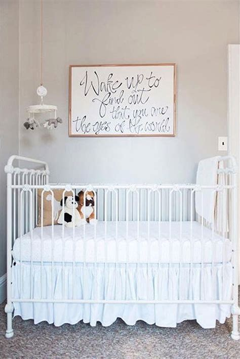 Iron Crib Nursery by Best 20 Iron Crib Ideas On Nurseries