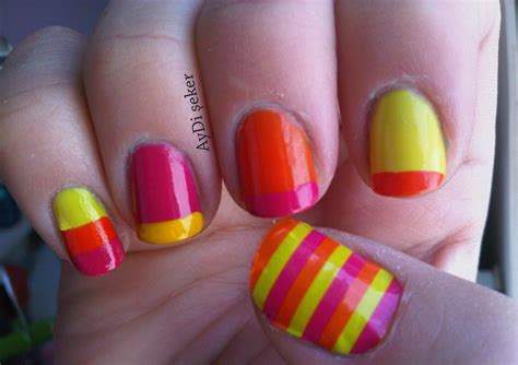 Neon Nail by Nail Designs Neon Colors 2017 2018 Best Cars Reviews