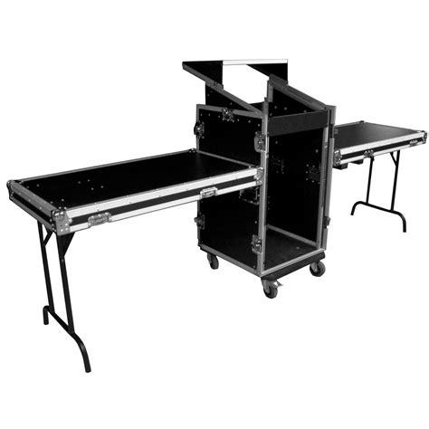 Black Table Set Exhibition Flex Table Ak Flight Case Industries Llc