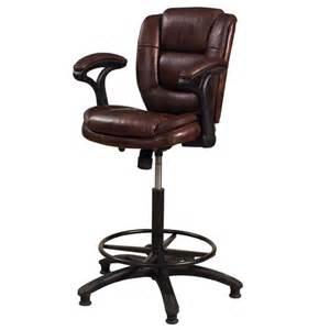 dawson metal adjustable swivel bar stool in black by