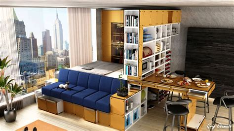 compact apartment platform bed small studio apartment ideas
