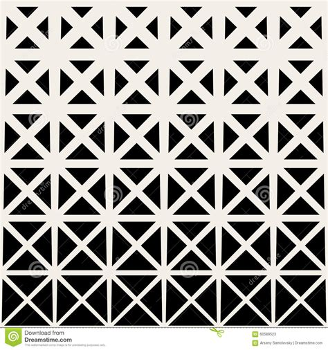 triangle pattern grid vector seamless black and white triangle grid halftone