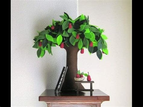 How To Make A Bush Out Of Paper - paper tree ideas original looking tree stylish