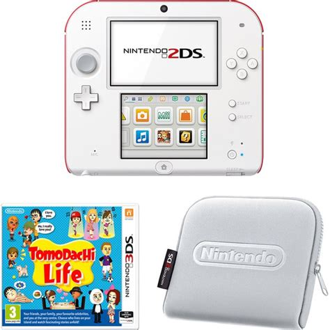 2ds console tomodachi nintendo 2ds console pack nintendo
