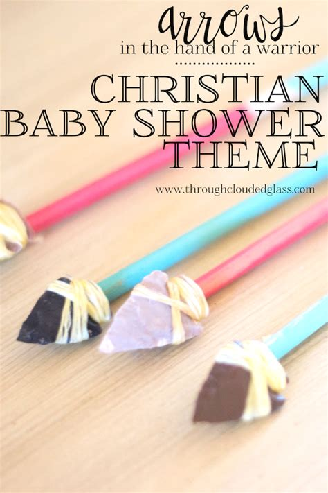 Christian Baby Shower by Christian Baby Shower Theme Ideas Through Clouded Glass