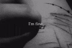 imagenes suicidas i m fine depresion gifs search find make share gfycat gifs