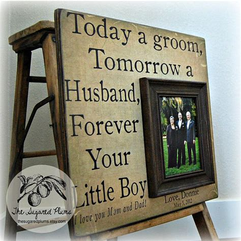 Wedding Gift To Parents by Parents Wedding Gift Personalized Picture Frame 16x16 Today A