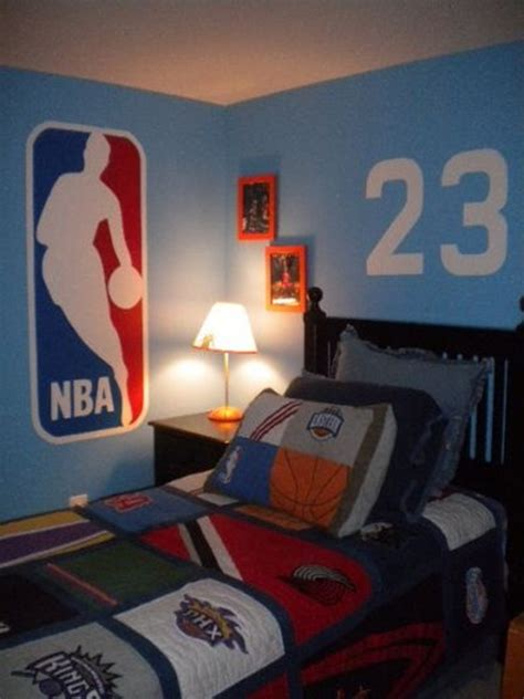 Nba Bedroom Decor by 35 Boy Bedroom Ideas To Decor