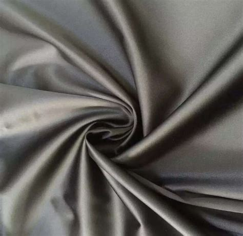 matte twisted polyester twisted matte satin fabric 90 gsm