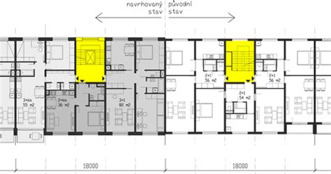 typical row house dimensions 2 architects prok蝪 p蝎ikryl