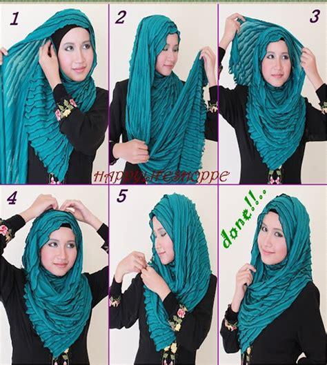 tutorial hijab wisuda tutup dada اجمل لفات الحجاب بالخطوات منتديات درر العراق