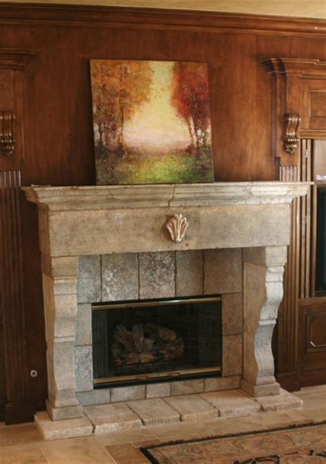 Vintage Tile Fireplace Surround by Antique Fireplace Mantels Living Room Los