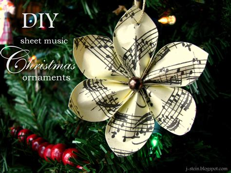 decorations musical the mercy diy flower sheet ornaments