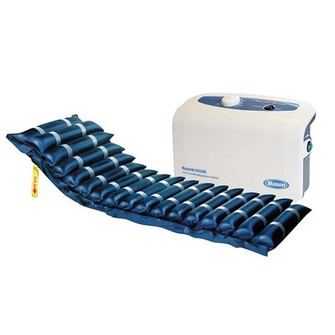 masonair 8 quot alternating pressure and low air loss mattress system