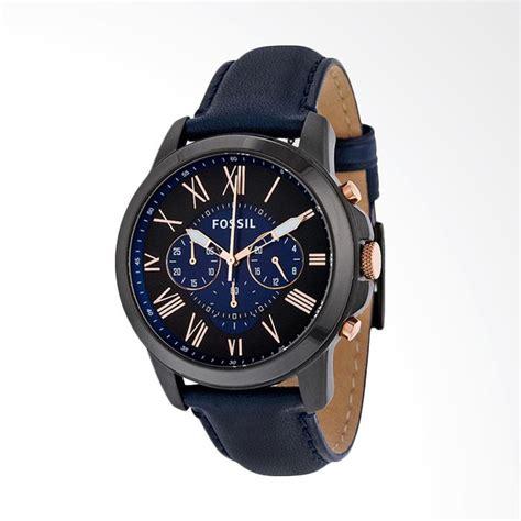 Fossil Fs5300 Grant Sport Chronograph Jam Tangan Pria Original jual fossil grant chronograph jam tangan pria biru tua