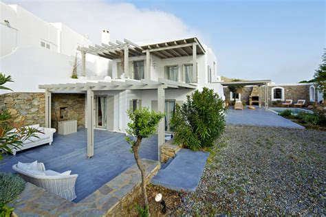 modern greek house design white and modern house design in mykonos island greece freshnist