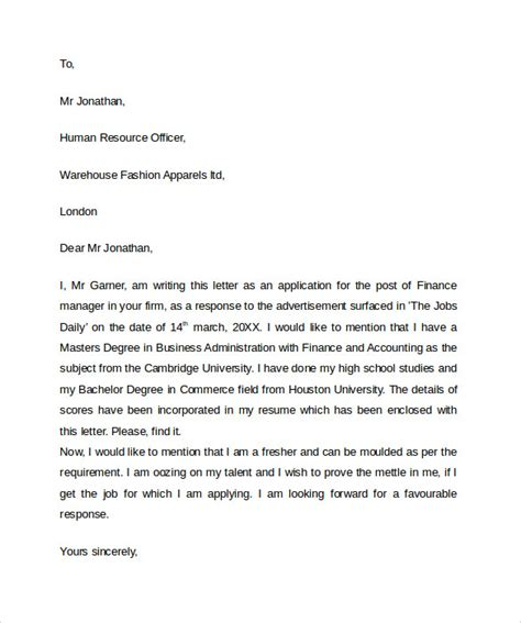 professional letter format 10 professional letters format to sle templates