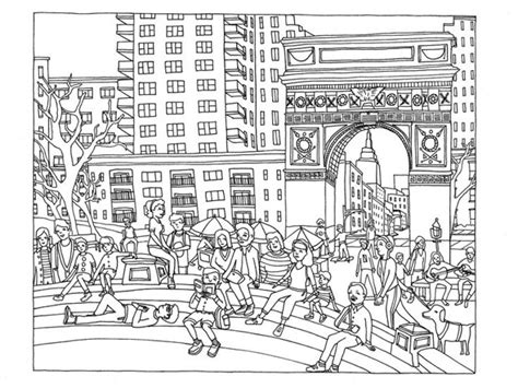 coloring book new york 7 infrastructure related coloring books for the urbanist