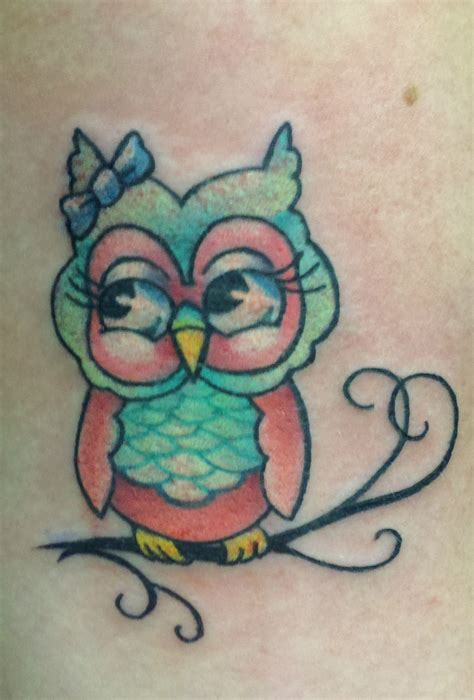 small cute owl tattoos owl tattoos pictures to pin on tattooskid