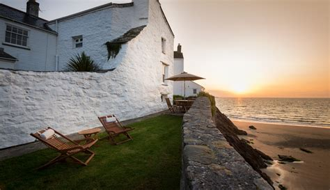 Luxury Seaside Cottages by Luxury Cottage Gorran The Spyglass Cottage