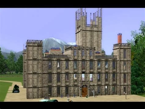 Floor Plan Buckingham Palace by Sims 3 Downton Abbey Castle Youtube