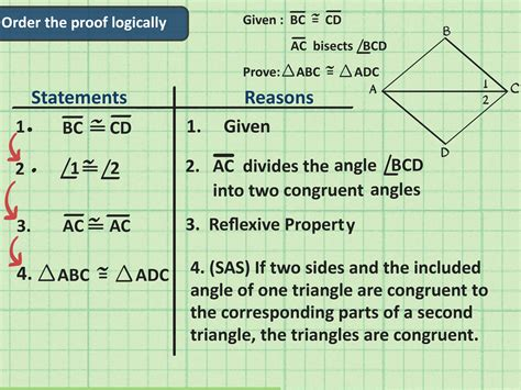 pattern congruity definition how to write a congruent triangles geometry proof 7 steps