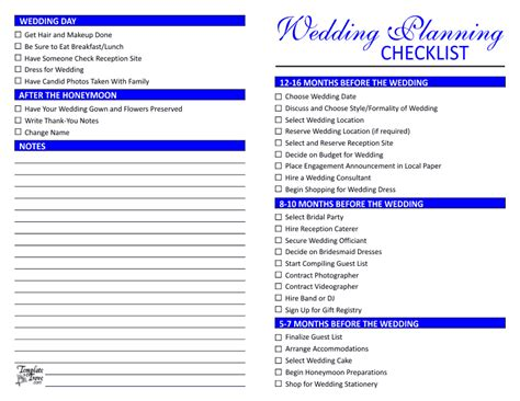 Wedding Checklist Singapore by Wedding Planning Checklist