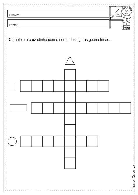 figuras geometricas atividades 4o ano lipitipi atividades e projetos fundamental i atividades