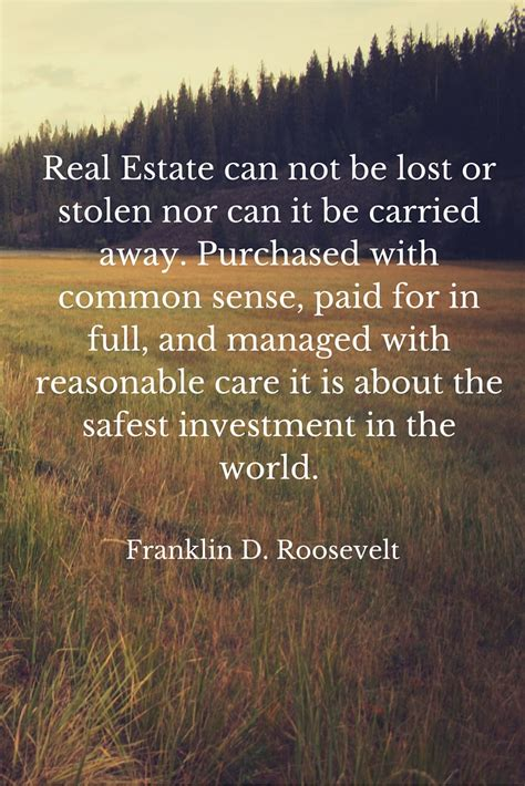 Can I Be A Real Estate With A Criminal Record The Greatest Real Estate Quotes