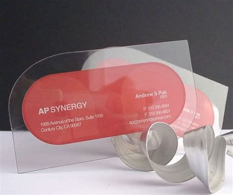 translucent plastic business cards 25 best ideas about plastic business cards on transparent business cards clear