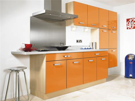 furniture of kitchen superb bright orange kitchen furniture kitchens decosee