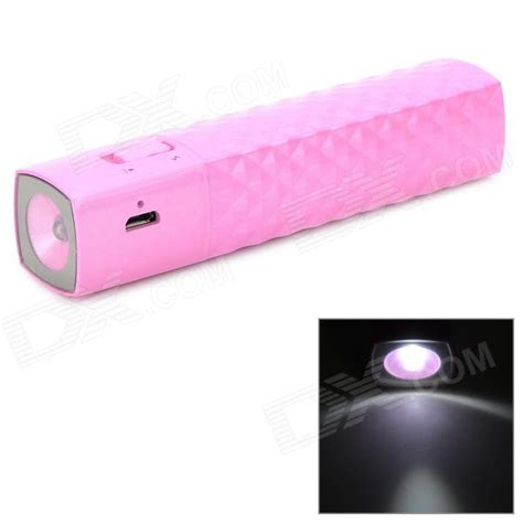 Power Bank Samsung X819 T819 Portable 2600mah Power Battery Charger Power Bank W 1 Led Flashlight For Iphone Ipod