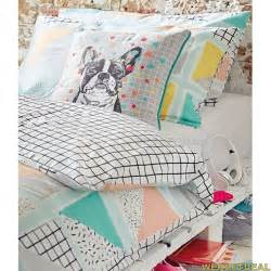 primark duvet covers triangle multi geo geometric primark duvet cover set size