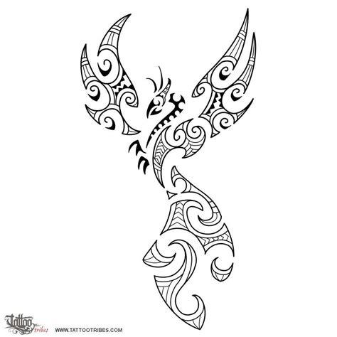 phoenix tattoo vorlagen phönix tattoos fire maori style phoenix tattoo tattoo designs