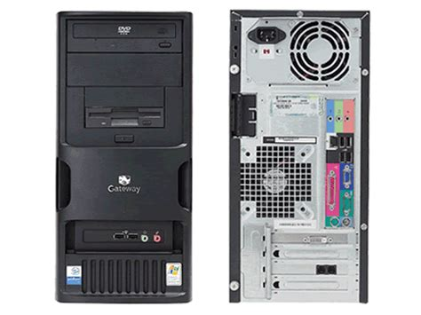 Hp Pavilion 3105m C2d Ready gateway e 4610d desktop computer refurbished intel