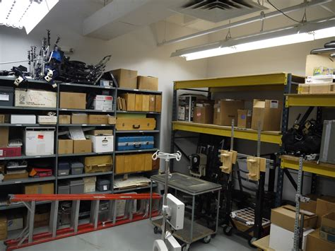 room storage virtual tour spine research institute