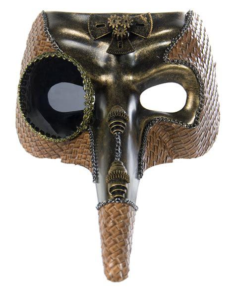 Masker Dokter steunk dr pest mask gold to order horror shop