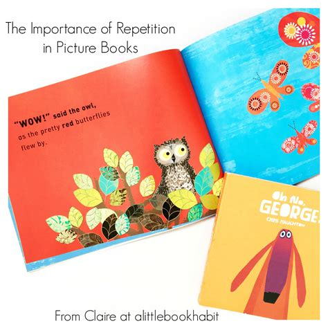 Guest Post The Importance Of Repetition In Picture Books