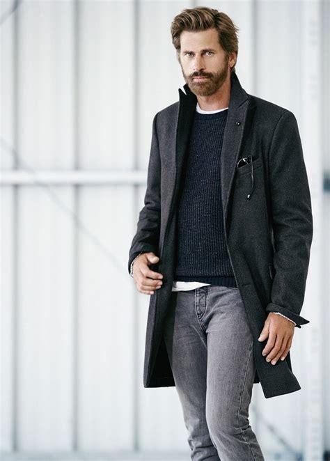 fashion grey fall winter street style casual style lumbersexual