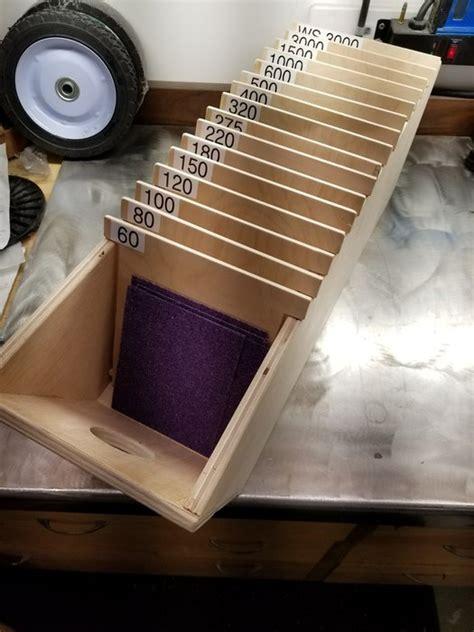 sand paper organizer  hutchmp  lumberjockscom