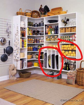 pantry shelf heights pantry ideas i like the slotted areas for trays cookie