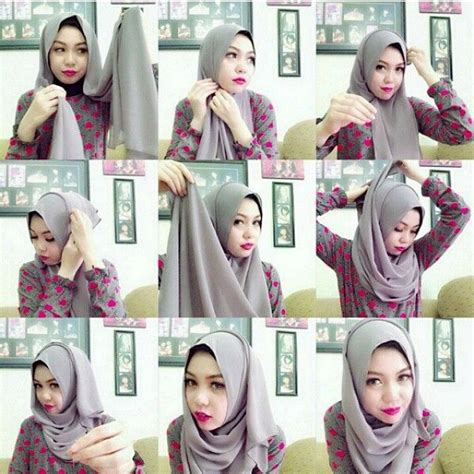 tutorial hijab simple n modern 238 best images about hijab tutorial on pinterest simple