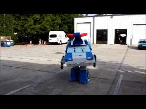 film robot poli poli robot costume youtube