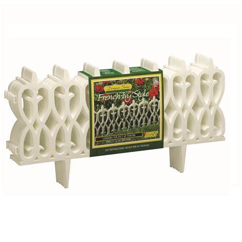garden fence plastic edging resin interlocking