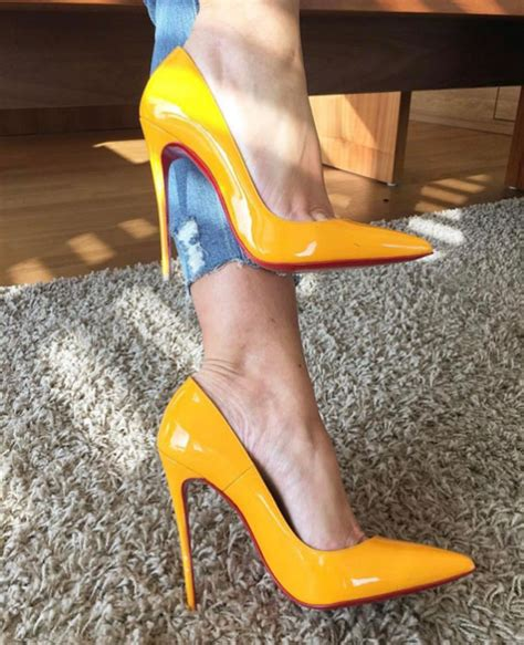 Jlos Pigalle Christian Louboutin Stilettos by Christian Louboutin Pigalle Follies 100 Mm Shoes Post